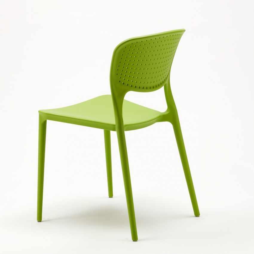 Offerta 20 Sedie di Design per Bar e Ristorante Interni ed Esterni GARDEN GIULIETTA - scontato