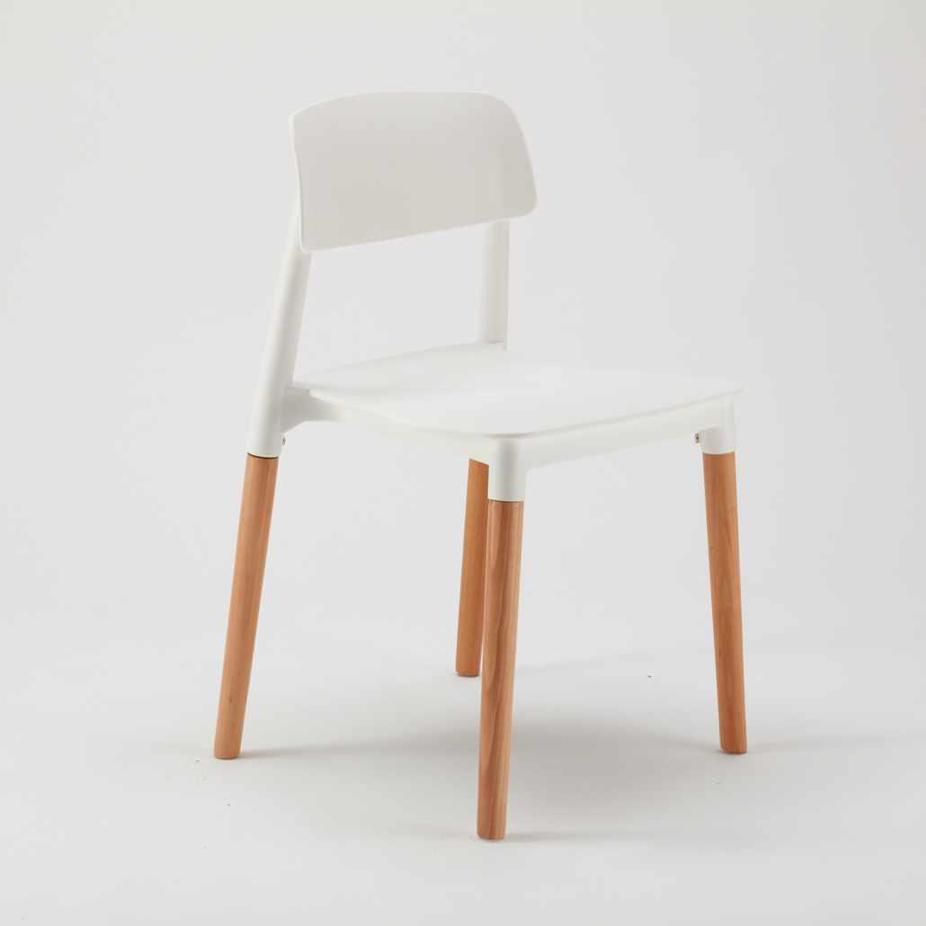 Sedie per Cucina e Bar Polipropilene e Legno Design Belloch Barcellona