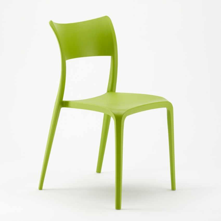 Sedia in Polipropilene Anti UV per Cucina Bar Ristorante e Giardino PARISIENNE - interno