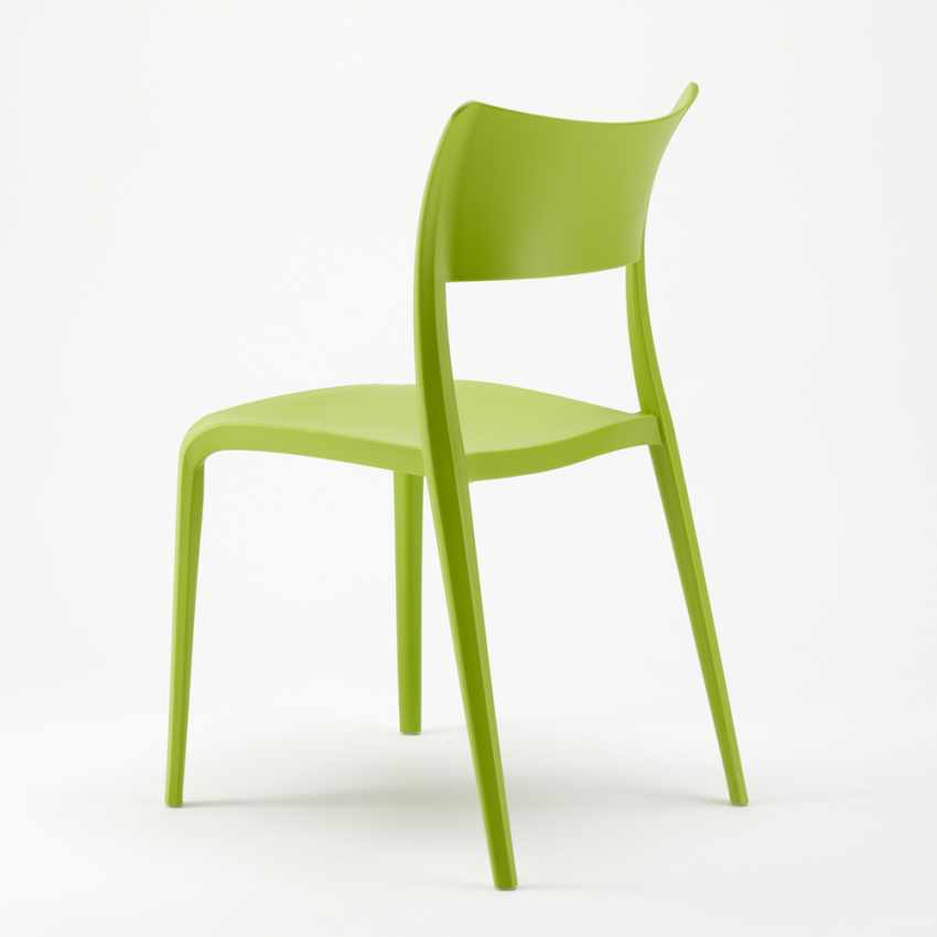 Sedia in Polipropilene Anti UV per Cucina Bar Ristorante e Giardino PARISIENNE - vendita