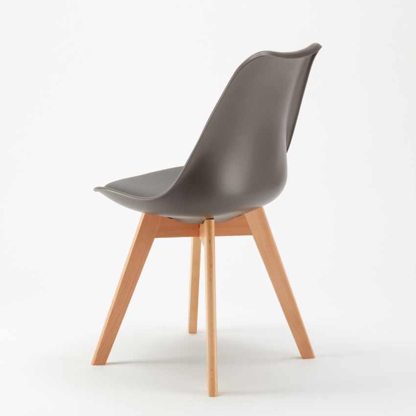 Sedie con Cuscino Design Scandinavo NORDICA per Bar e Cucina - nuovo