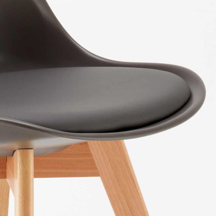 Sedie con Cuscino Design Scandinavo NORDICA per Bar e Cucina - promo