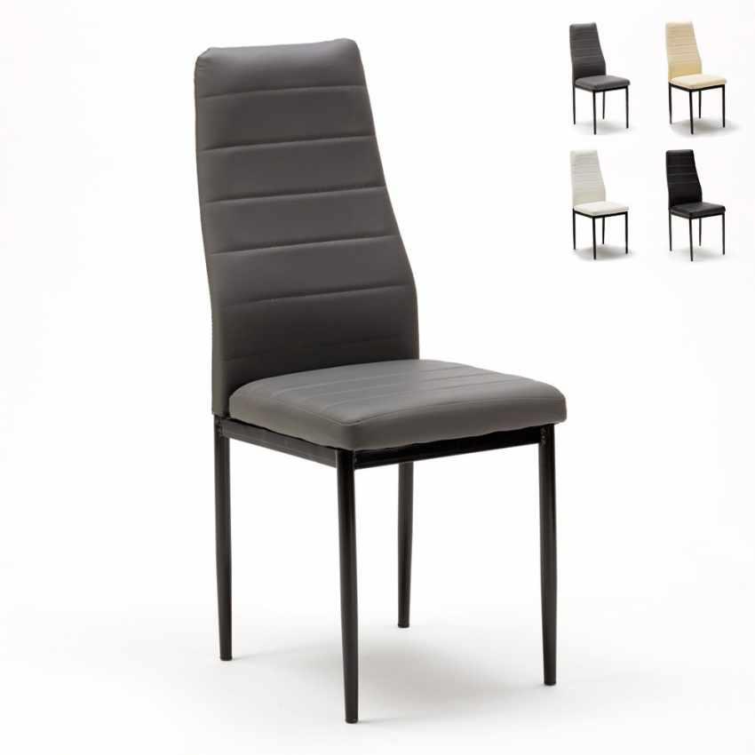 Set di 6 sedie da ristorante cucina sala da pranzo in for Sedie sala da pranzo prezzi