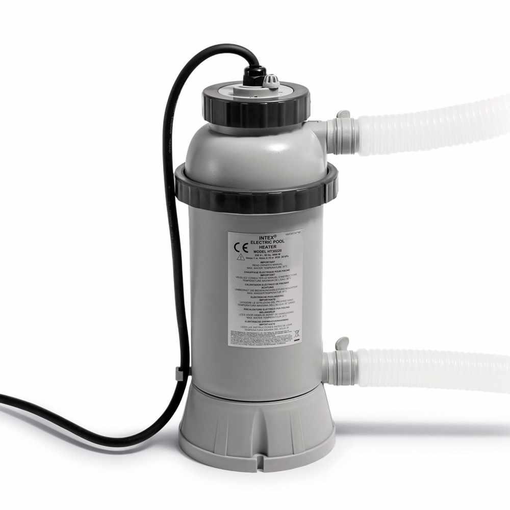 Arredi Per Piscine Esterne pompa riscladatore acqua intex 28684 per riscaldamento piscina