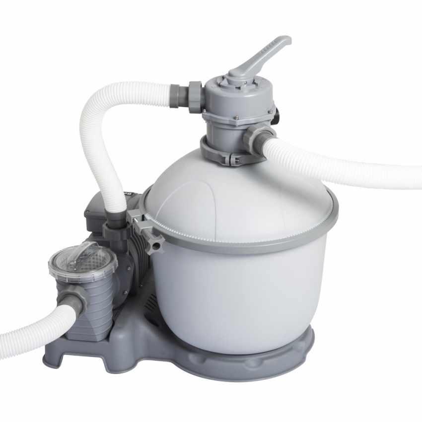 Bestway 58404 Flowclear Pompa Filtro a Sabbia per Piscine Fuori Terra Intex Bestway - foto