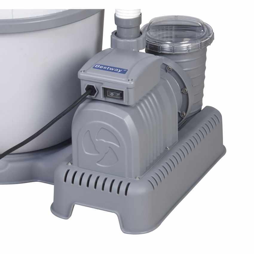 Bestway 58404 Flowclear Pompa Filtro a Sabbia per Piscine Fuori Terra Intex Bestway - promo