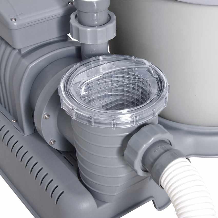 Bestway 58404 Flowclear Pompa Filtro a Sabbia per Piscine Fuori Terra Intex Bestway - vendita