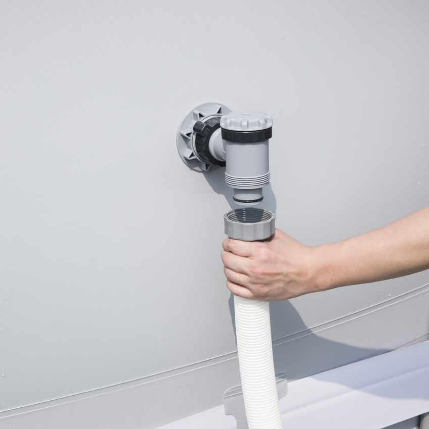 Bestway 58404 Flowclear Pompa Filtro a Sabbia per Piscine Fuori Terra Intex Bestway - immagine