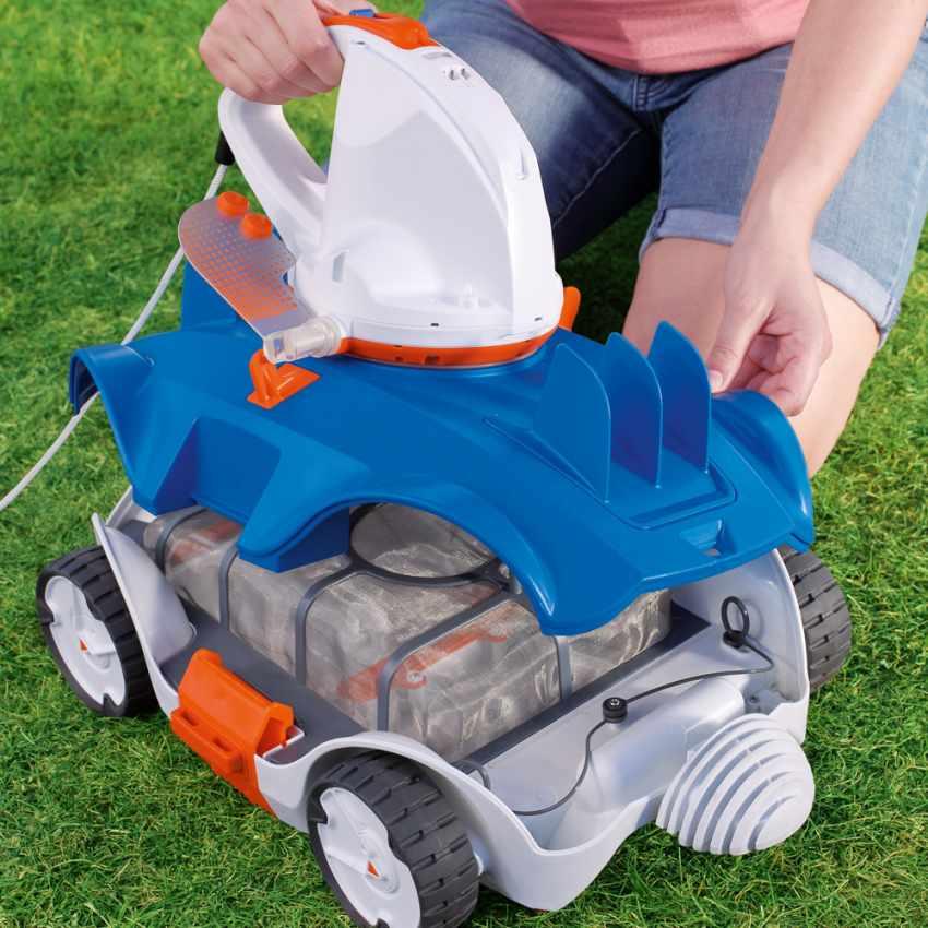 Robot Pulitore Per Pulizia Piscina Bestway 58482 Flowclear Aquatronix - prezzo