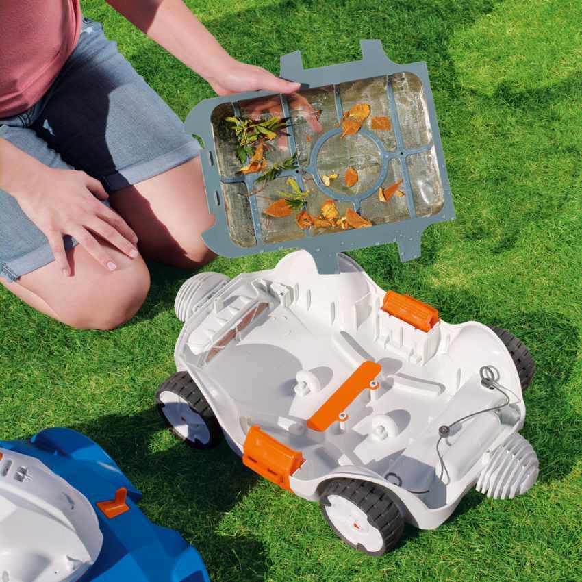 Robot Pulitore Per Pulizia Piscina Bestway 58482 Flowclear Aquatronix - esterno