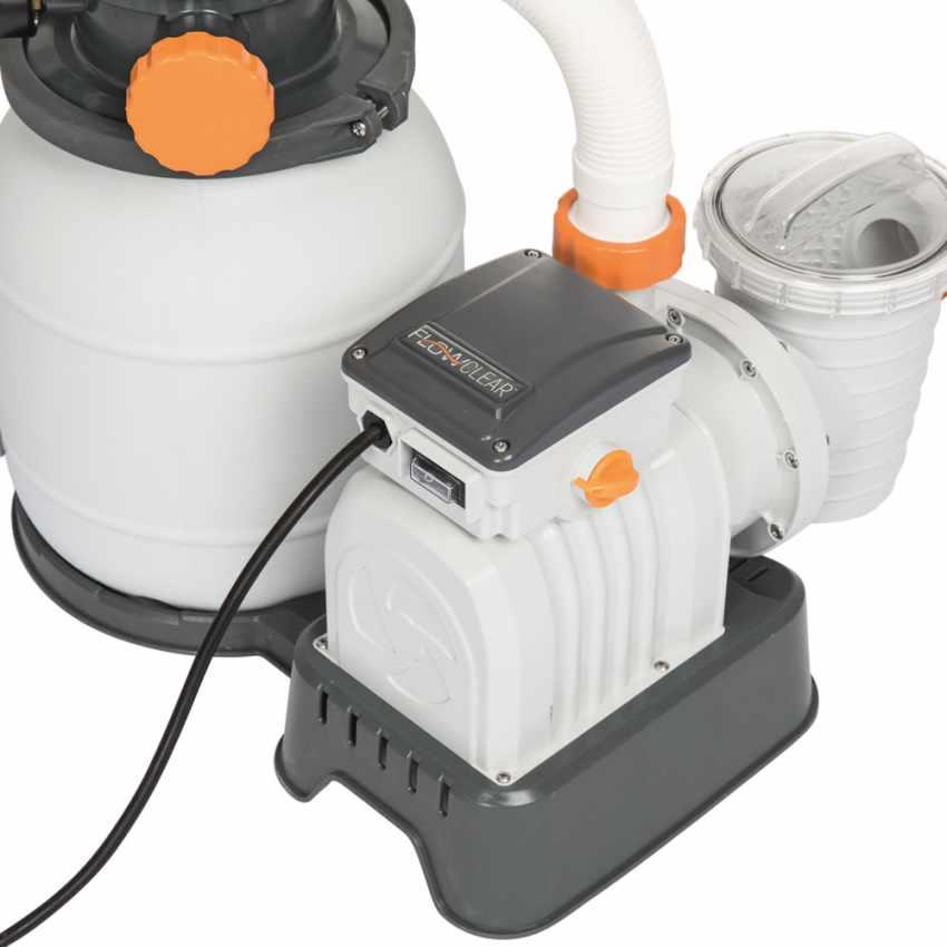 Bestway 58495 Flowclear Pompa filtro sabbia da 3785lt/h per piscina - offerta