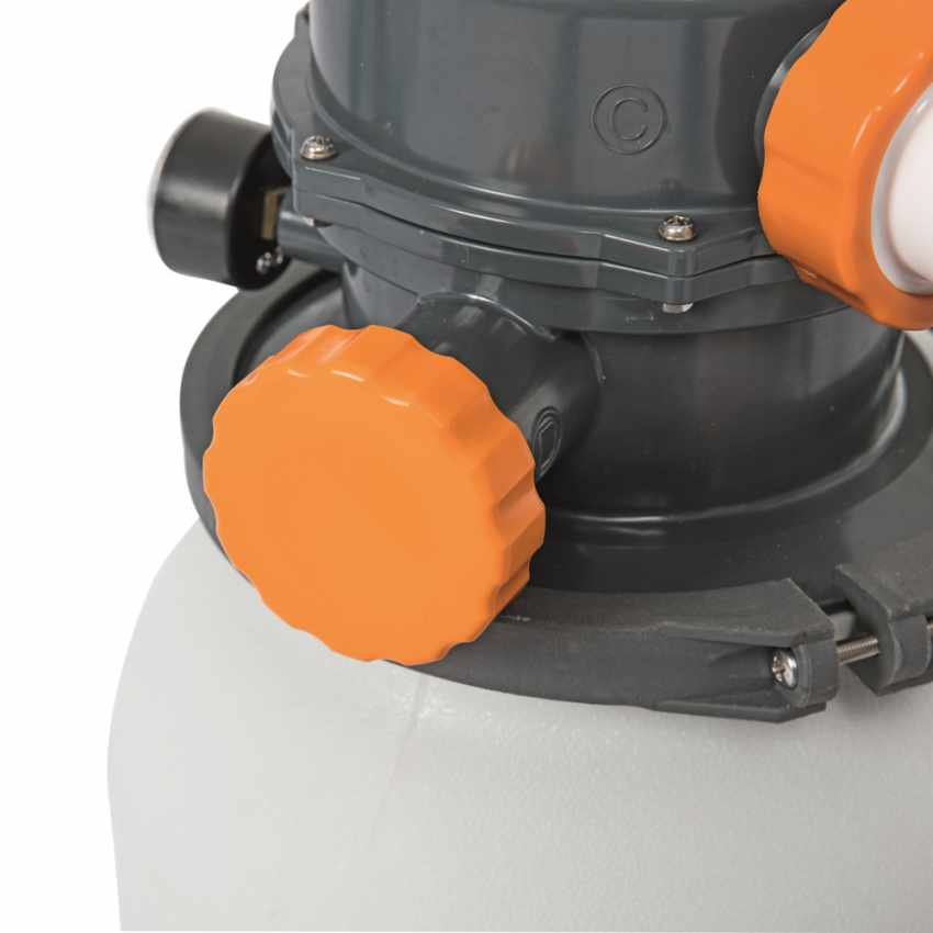Bestway 58495 Flowclear Pompa filtro sabbia da 3785lt/h per piscina - esterno