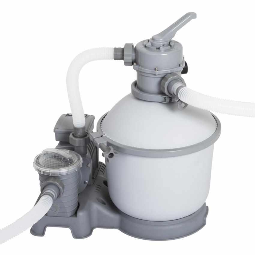 Bestway 58400 Pompa Filtro a Sabbia per Piscine Fuori Terra Bestway Intex - dettaglio