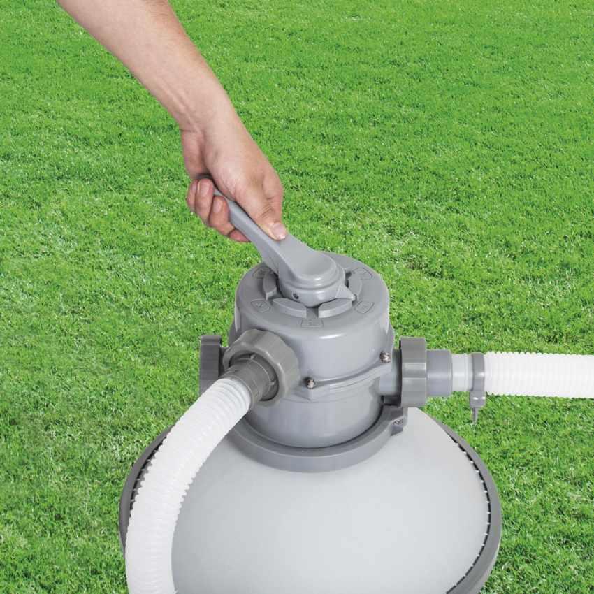 Bestway 58400 Pompa Filtro a Sabbia per Piscine Fuori Terra Bestway Intex - migliore