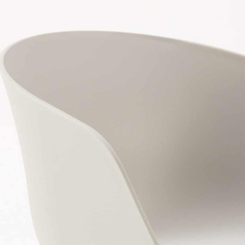 Stock 20 Sedie Design Scandinavo Metallo Effetto Legno DEXER Per Bar E Ristoranti - offerta
