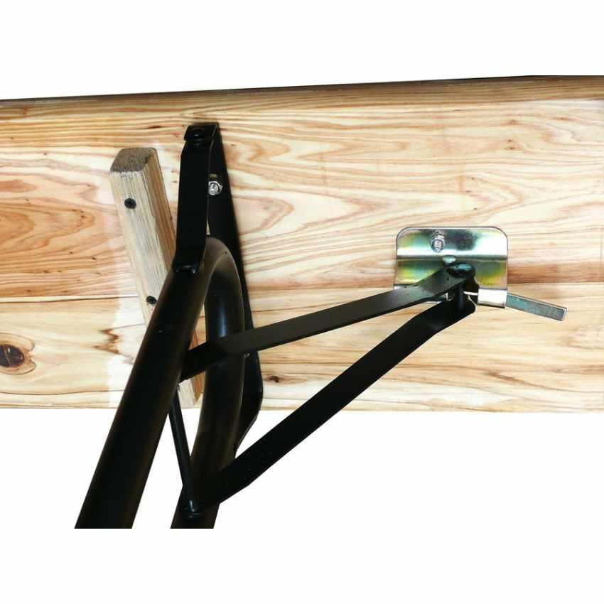 SB223LEG - Set birreria tavolo panche legno feste giardino sagre 220x80 3 gambe - azzurro