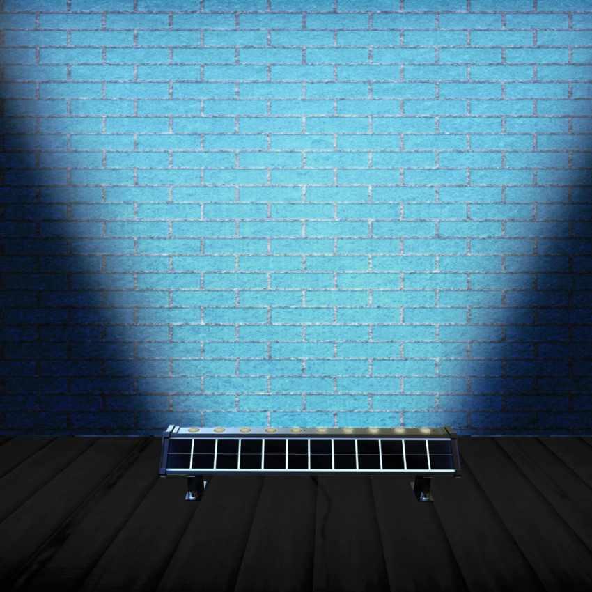 Luce LED Solare Illuminazione Pareti Esterne e Cartelloni BILLBOARD - foto