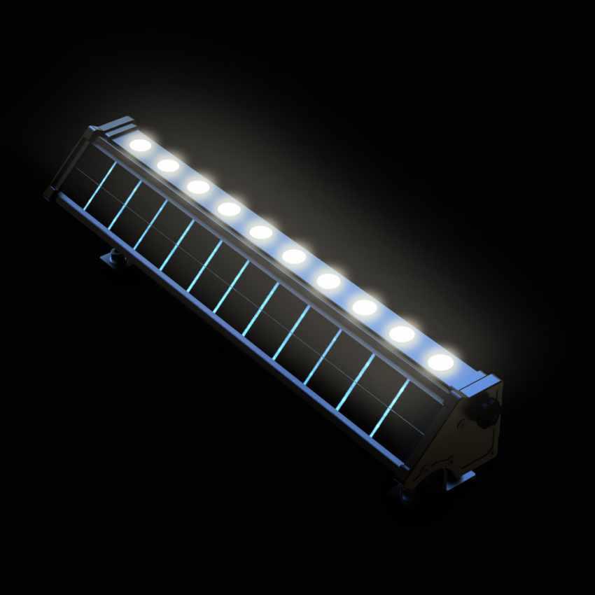 Luce LED Solare Illuminazione Pareti Esterne e Cartelloni BILLBOARD - nuovo