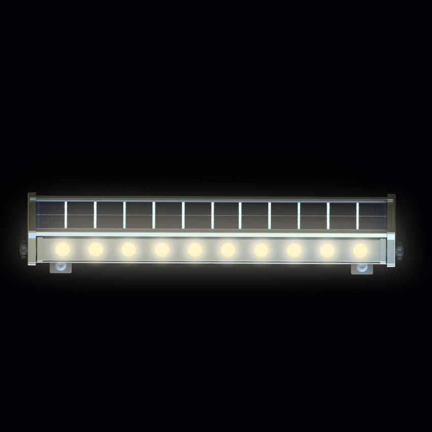 Luce LED Solare Illuminazione Pareti Esterne e Cartelloni BILLBOARD - promo