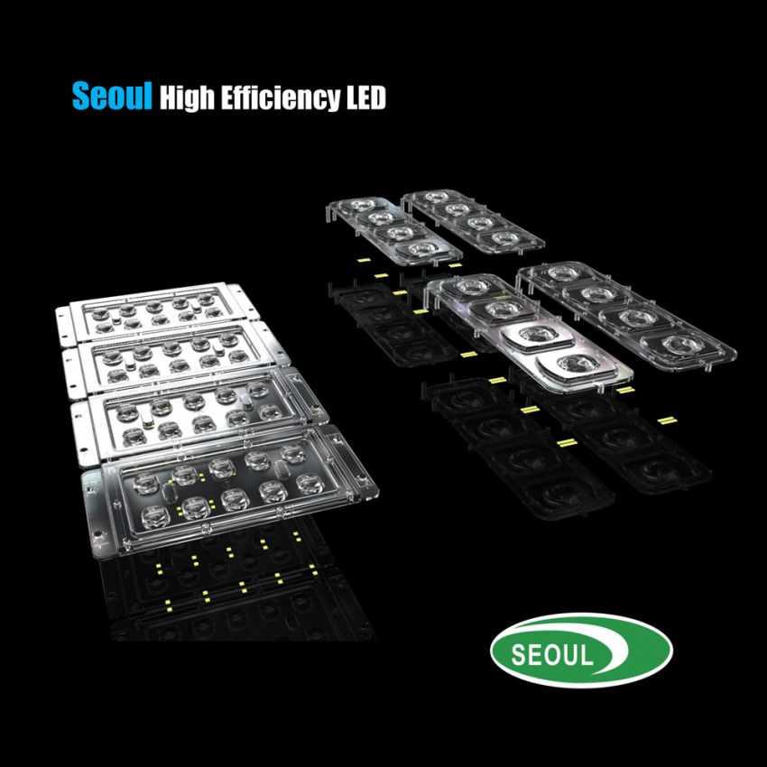 Lampione Solare LED con Pannello Integrato 5000 Lumen per Strade Giardini GOLDRAKE - scontato