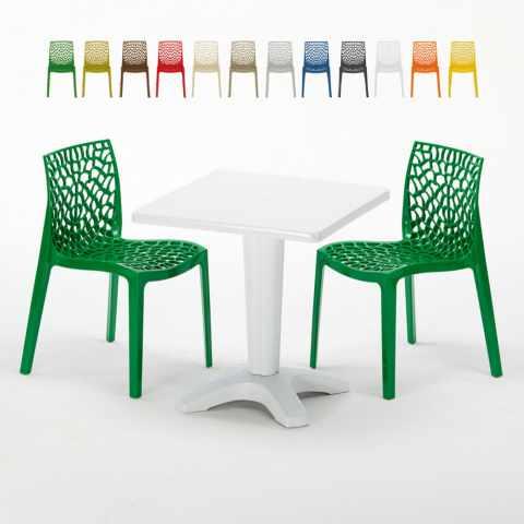 Tavoli E Sedie Per Bar Esterno.Sedie E Tavoli Polyrattan Per Giardino Esterni E Bar Modelli E Prezzi