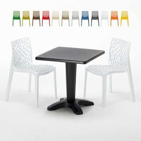 Tavoli Da Terrazzo Prezzi.Sedie E Tavoli Polyrattan Per Giardino Esterni E Bar Modelli E Prezzi