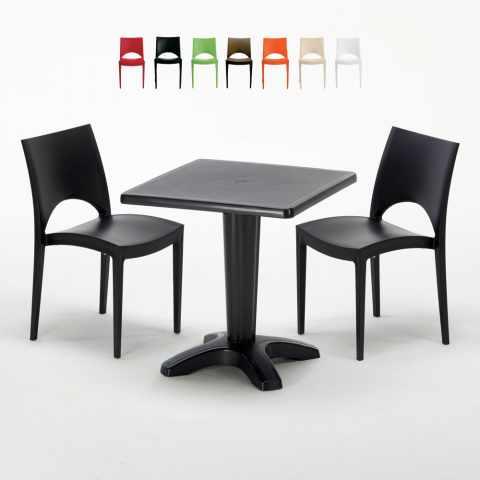 Tavolo Sedie Giardino Plastica.Sedie E Tavoli Polyrattan Per Giardino Esterni E Bar Modelli E Prezzi