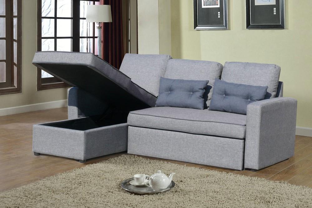 Divano letto penisola ad angolo modulare 3 posti e cuscini smeraldo soggiorno ebay - Divano angolo letto ...