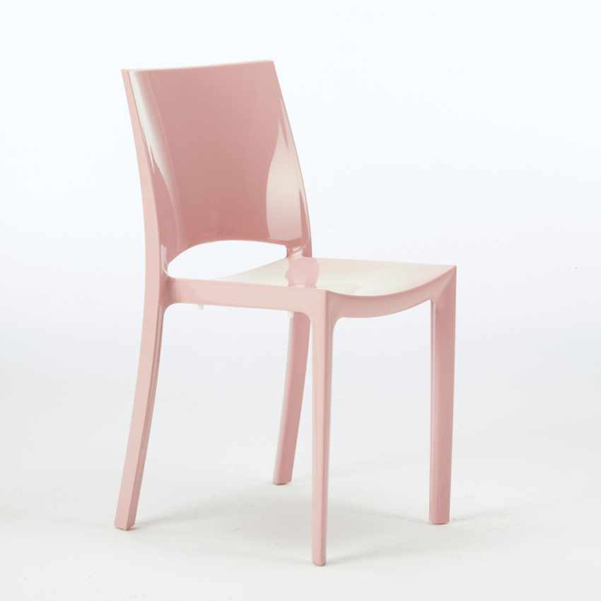 Sedie per cucina e bar lucida Grand Soleil SUNSHINE Design Moderno in Polipropilene - offerta