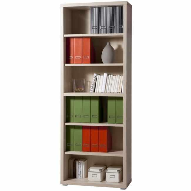 Magazine Libreria In Legno 6 Ripiani Design Moderno ...