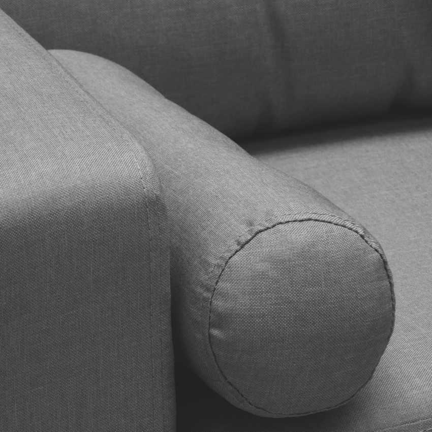 Divano Design Moderno Stile Scandinavo In Tessuto Di Prima Scelta 3 Posti ACQUAMARINA - interno