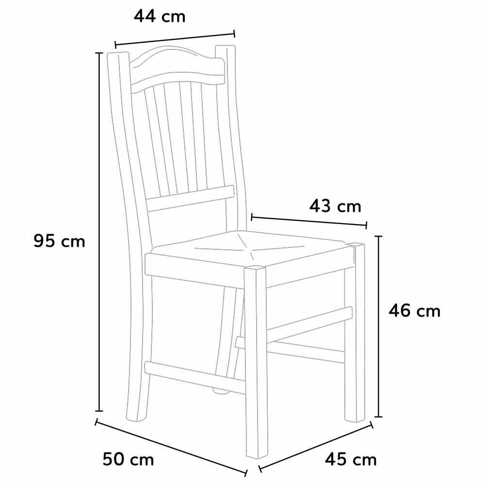 Dimensioni Tavolo Sala Da Pranzo sedia in legno con seduta impagliata per cucina e sala da pranzo silvana  paglia