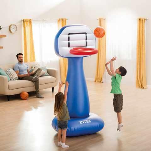 57502 - Canestro Basket Intex 57502 Gonfiabile con Palla per Casa e Giardino - offerta