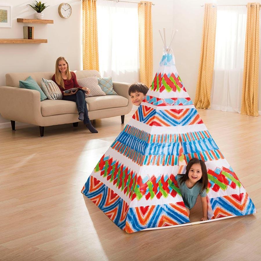 Tenda Indiani Fai Da Te tenda indiana teepee intex 48629 gioco per bambini