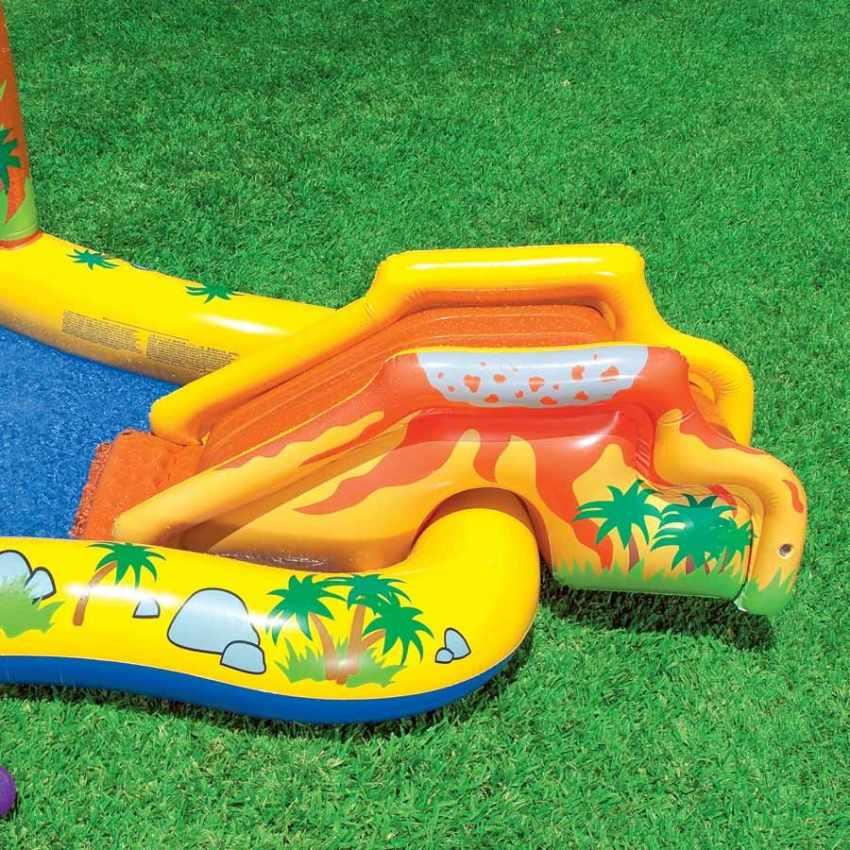 57444 - Piscina gonfiabile bambini Intex 57444 Dinosaur Play Center gioco - economico