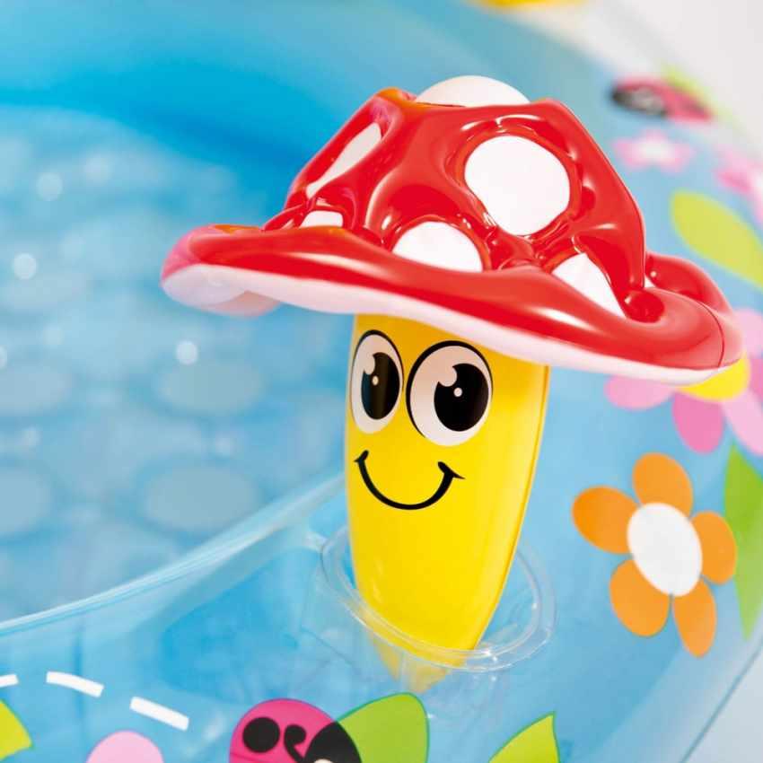 piscina gonfiabile intex 57114 mushroom per bambini accessori
