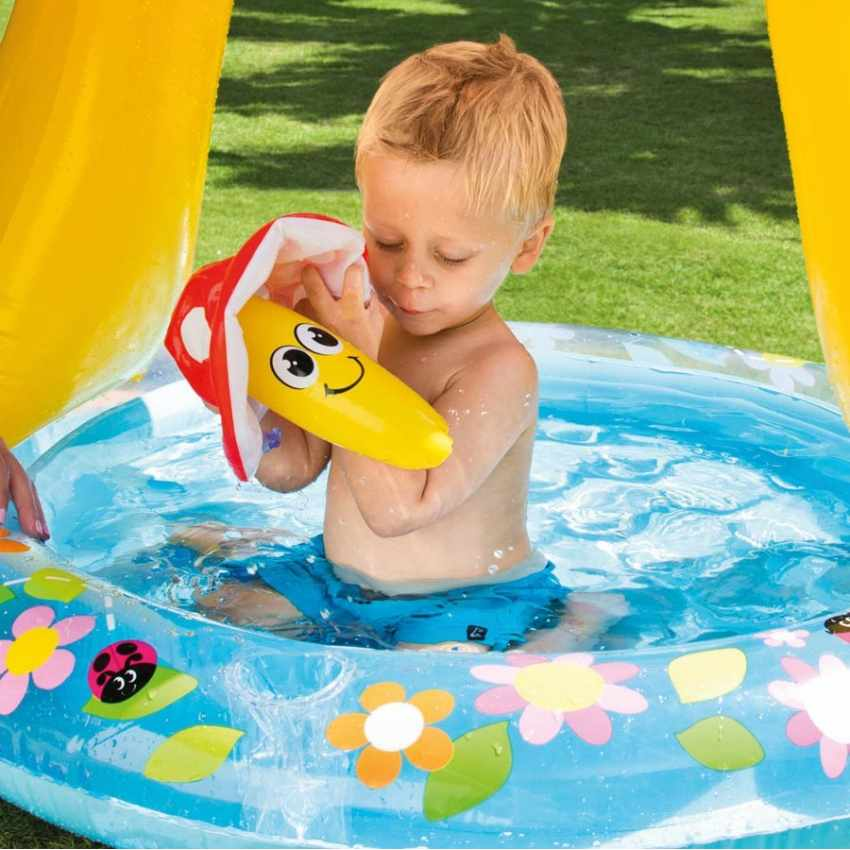 Piscina per bambini gonfiabile intex 57114 mushroom - Intex piscina gonfiabile ...