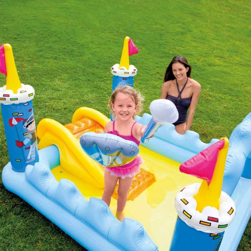 Piscina per bambini gonfiabile intex 57138 fantasy castle - Intex piscina gonfiabile ...