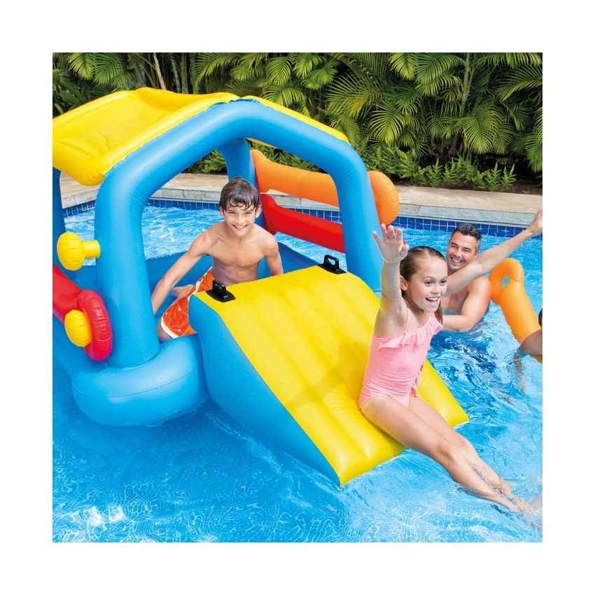 58294 - Intex 58294 isola gonfiabile galleggiante con scivolo per bambini - basso costo