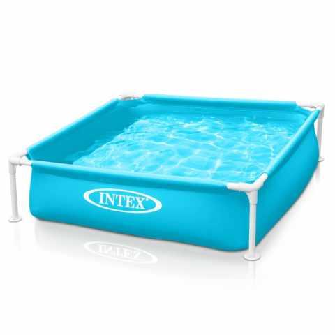 57173 - Intex 57173 Mini Frame piscina quadrata per bambini - bianco