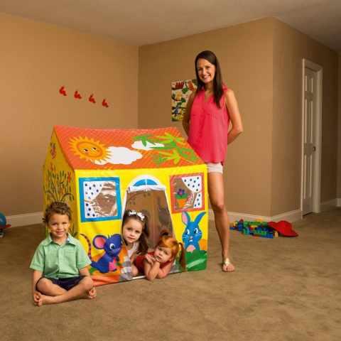 52007 - Casetta gioco per bambini Bestway 52007 da giardino interno casa - promozione