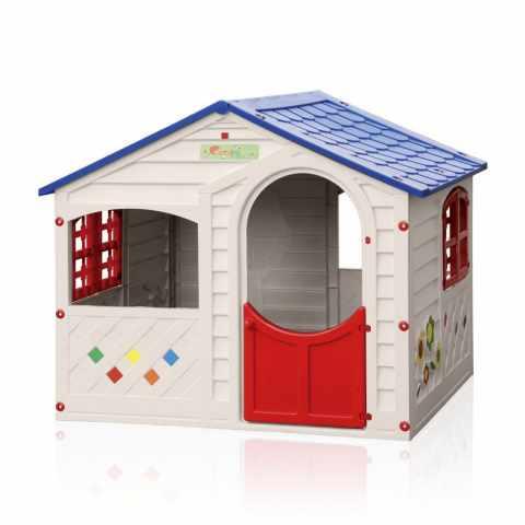 B8430B - Casetta plastica bambini Grand Soleil giardino CASA MIA - basso costo