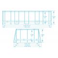Piscina Fuori Terra Ovale Bestway 56710 Power Steel 549x274x122 cm - vendita