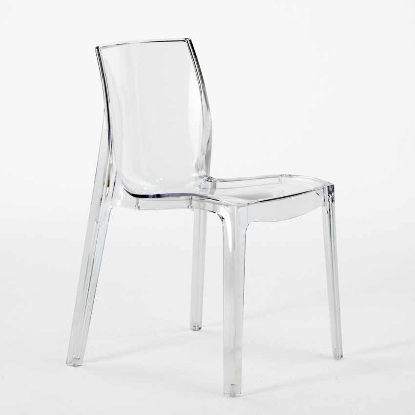 offerta sedie design moderno per bar ristoranti trasparenti