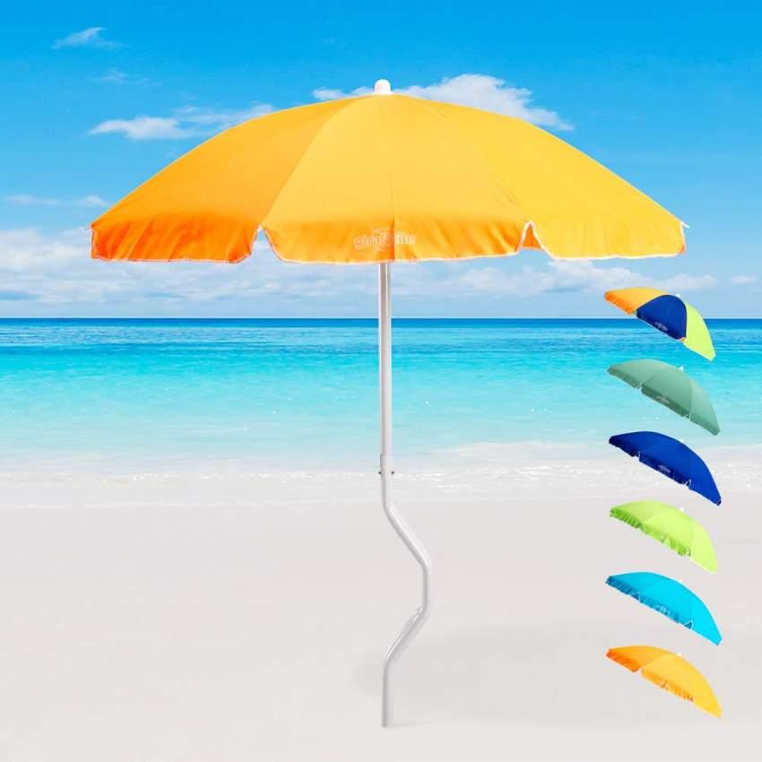 Offerte Ombrelloni Da Spiaggia.Ombrellone Da Spiaggia Mare Girafacile In Cotone 180cm Dioniso