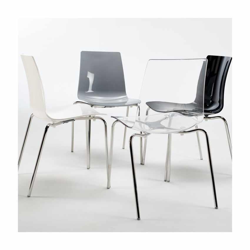Offerta 12 sedie con gambe in acciaio per bar ristoranti for Grand soleil sedie