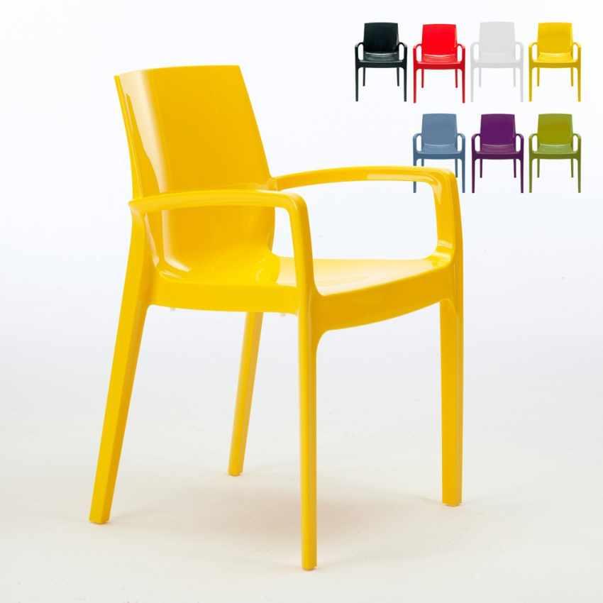 Offerta 22 sedie con braccioli per bar ristorante for Sedie in offerta