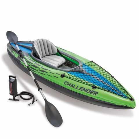 68305 - Canoa Kayak gonfiabile Intex 68305 Challenger K1 - retro