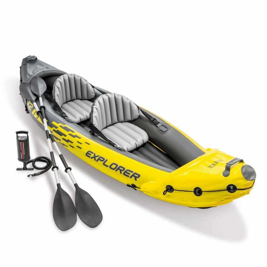 Canoa Kayak Gonfiabile Intex Explorer K2 68307 - detalle