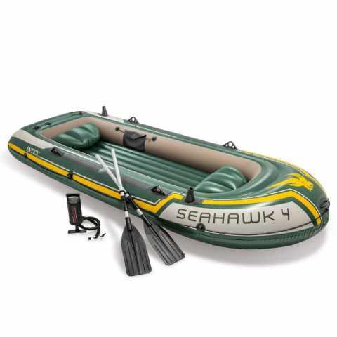 68351 - Canotto gonfiabile Intex 68351 Seahawk 4 Gommone - basso prezzo